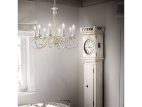 Klasický lustr Ideal LUX Brandy SP8