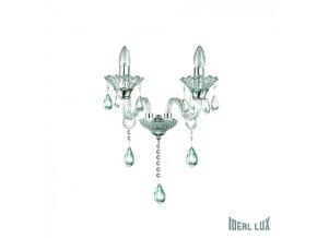 Nástěnné svítidlo Ideal LUX Colossal AP2 Trasparente