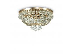Křišťálový lustr Ideal LUX Caesar PL6 Oro