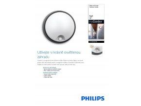 Venkovní LED svítidlo PHILIPS Eagle 17318/30/16 s čidlem