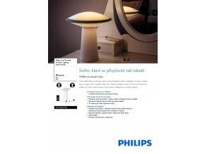 PHILIPS HUE 31154/31/PH stolní LED lampa Phoenix color 1x9W RGB