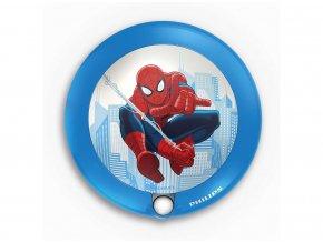 Noční světýlko se senzorem PHILIPS Spiderman 71765/40/16