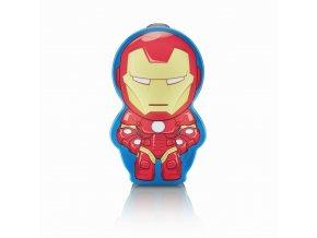 Dětská LED svítilna PHILIPS Iron Man 71767/35/16
