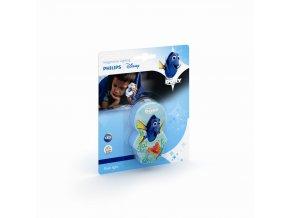 PHILIPS Disney 71767/35/P0 dětská LED svítilna Finding Dory 1x0,3W 2700K