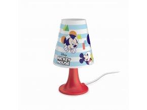 Dětská stolní lampička LED PHILIPS Mickey Mouse 71795/30/16