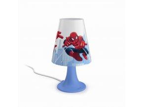 Dětská stolní lampička LED PHILIPS Spider Man 71795/40/16