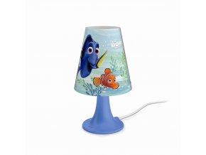 Dětská stolní lampička LED PHILIPS Finding Dory 71795/90/16