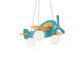 Dětský závěsný lustr Ideal LUx Avion-1 SP3 136325