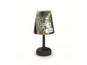 LED přenosná stolní lampa Philips Star Wars 71796/30/P0