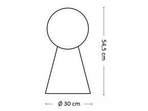 lampa Ideal LUX Birillo TL1 Big