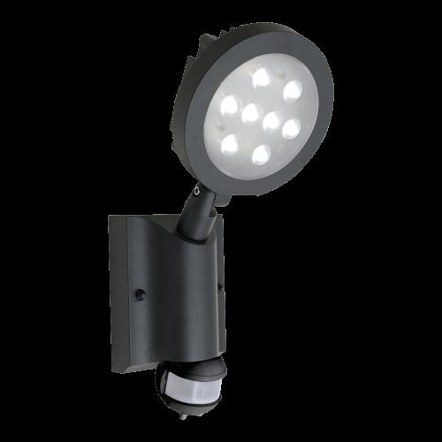EMITHOR 70122 LED reflektor s čidlem Nevada 8x1W IP54 4100K