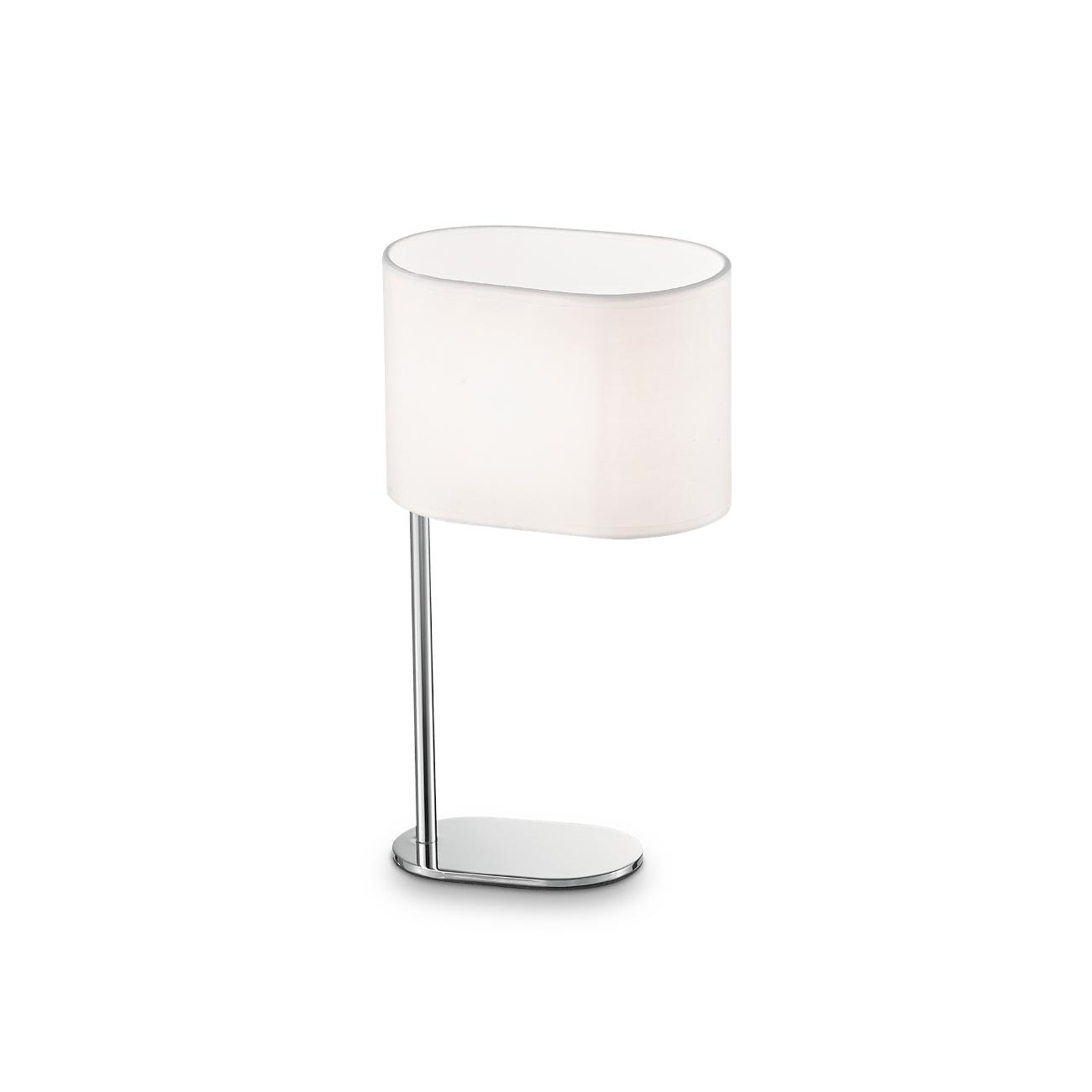 Stolní lampa Ideal LUX Sheraton TL1 Small Bianco