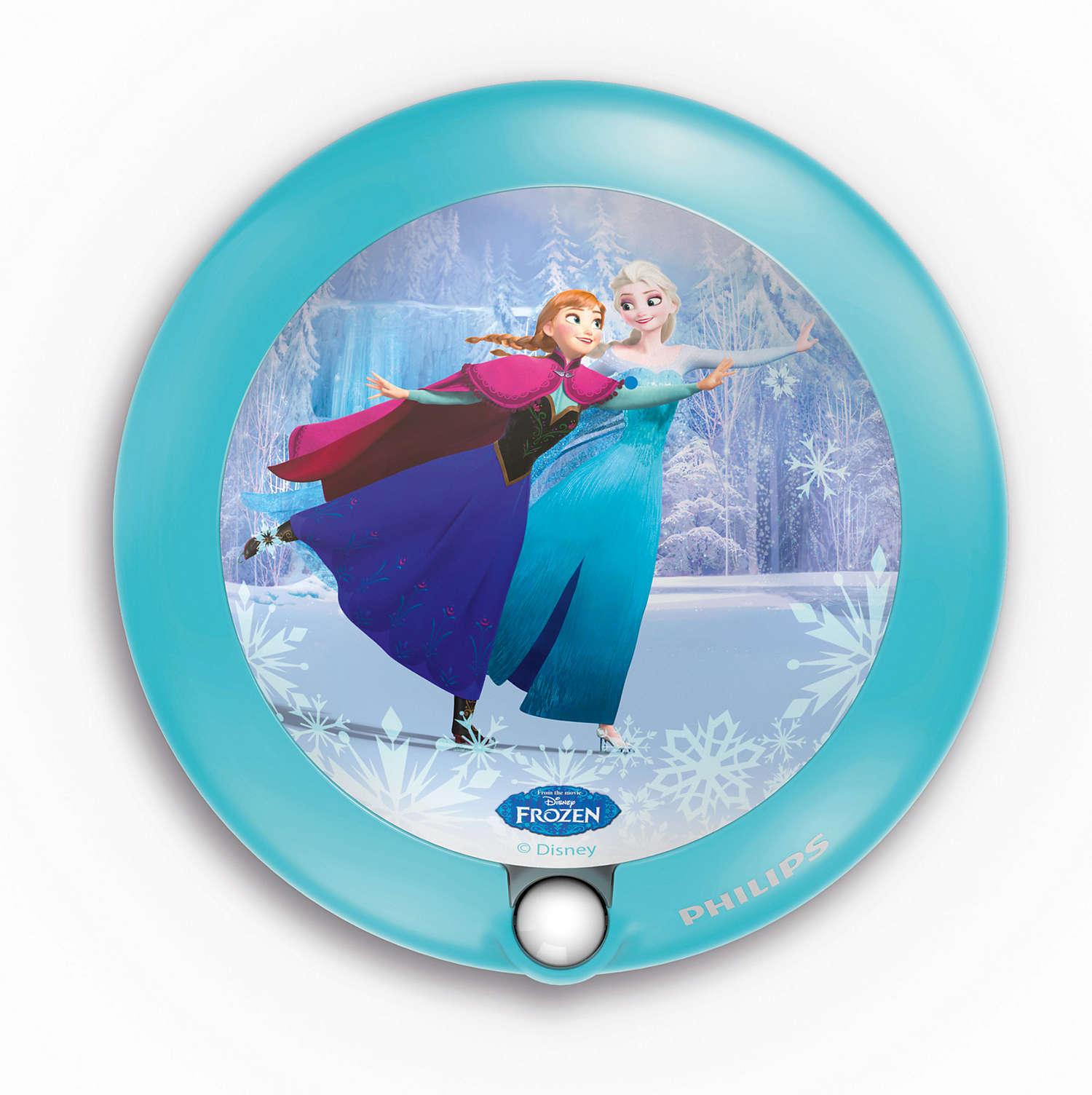 Noční světýlko se senzorem PHILIPS Frozen 71765/08/16