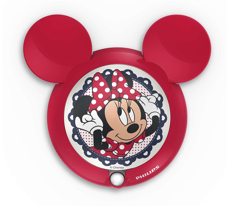 Noční světýlko se senzorem PHILIPS Minnie Mouse 71766/31/16