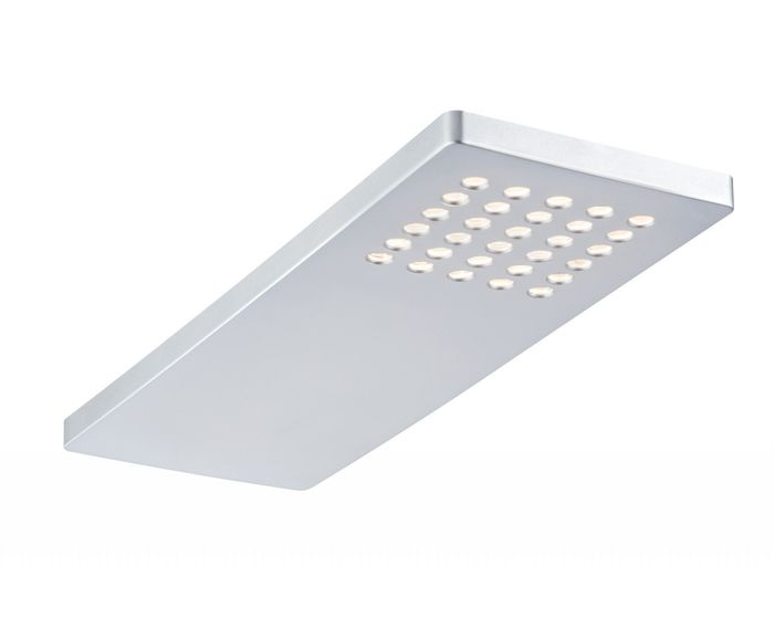 Sada 3ks nábytkových přisazených svítidel Pattern LED matný chrom - PAULMANN P 93563