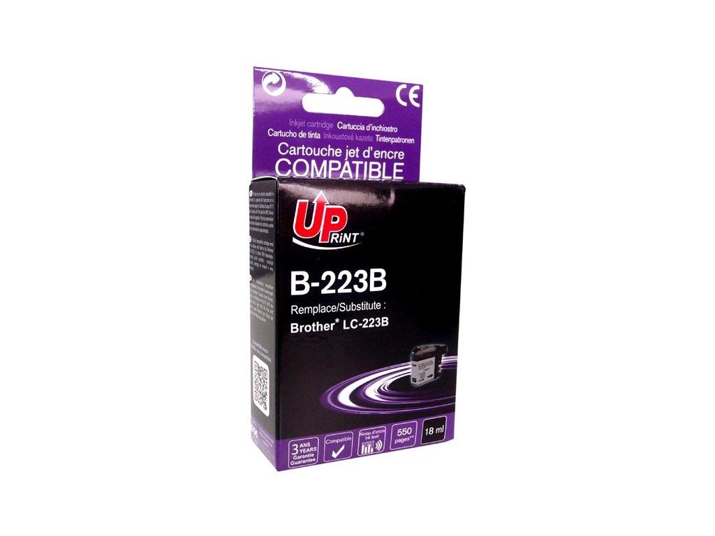 Kompatibilní inkoust Brother LC-223BK | DůmTiskáren.cz