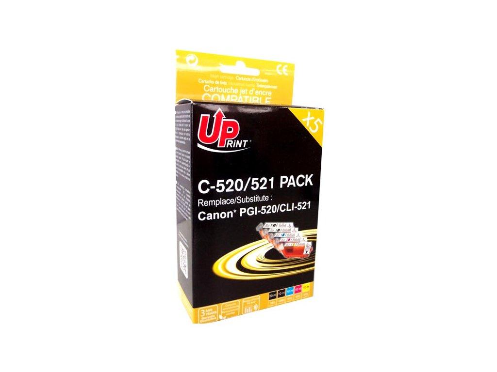 Kompatibilní inkoust Canon CLI-521 2x  | DůmTiskáren.cz
