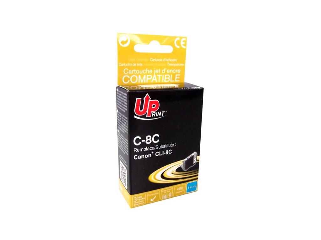 Kompatibilní inkoust Canon CLI-8C   DůmTiskáren.cz