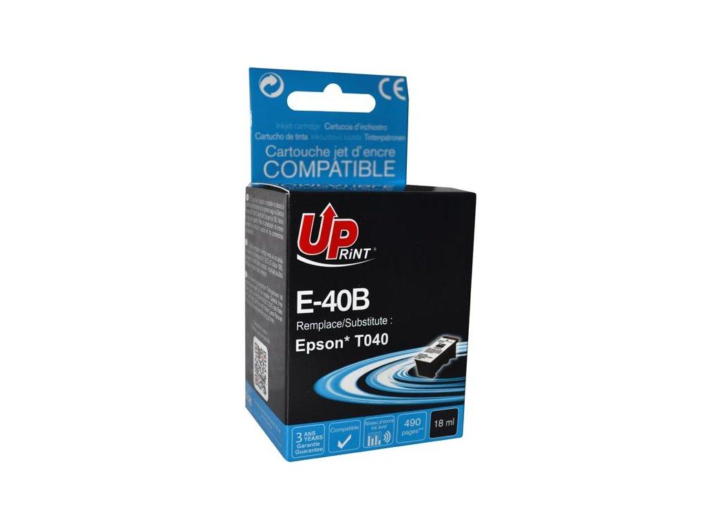 Kompatibilní Epson C13T040140 Černý   DůmTiskáren.cz