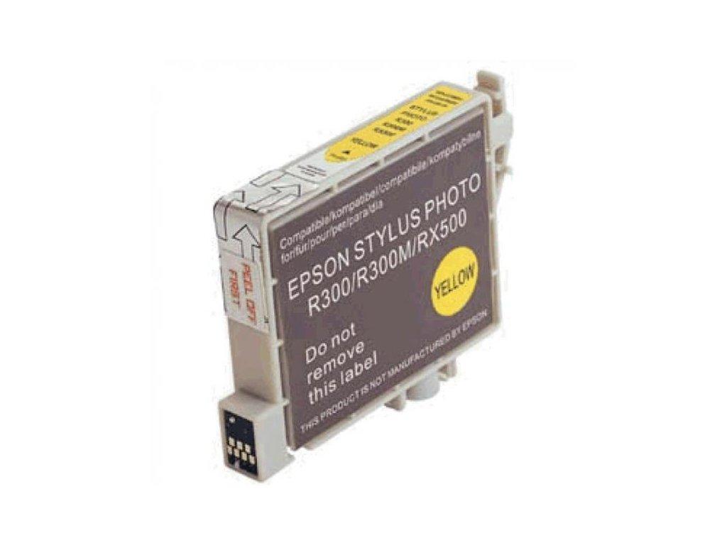 Kompatibilní Epson C13T048440 Žlutý | DůmTiskáren.cz
