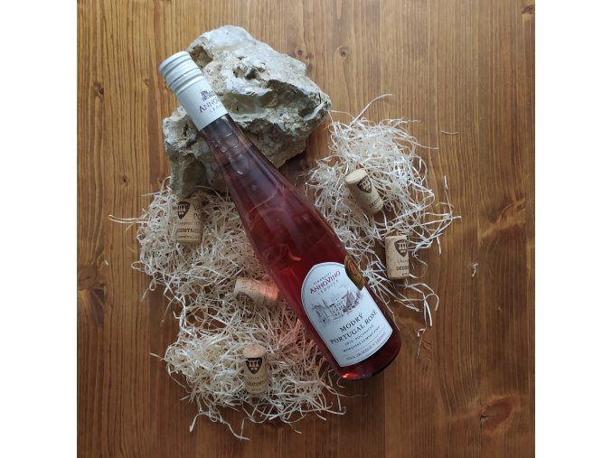 ruzove vino modry portugal rose 2019 mzv polosuche