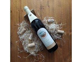 cervene vino merlot 2017 vyber z hroznu barrique suche