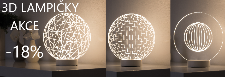 3D LAMPIČKY