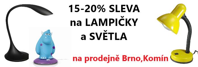 Sleva na prodejně Brno