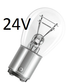 Signalizační žárovky 24V