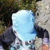 Čepice s kšiltem Puntík mentol