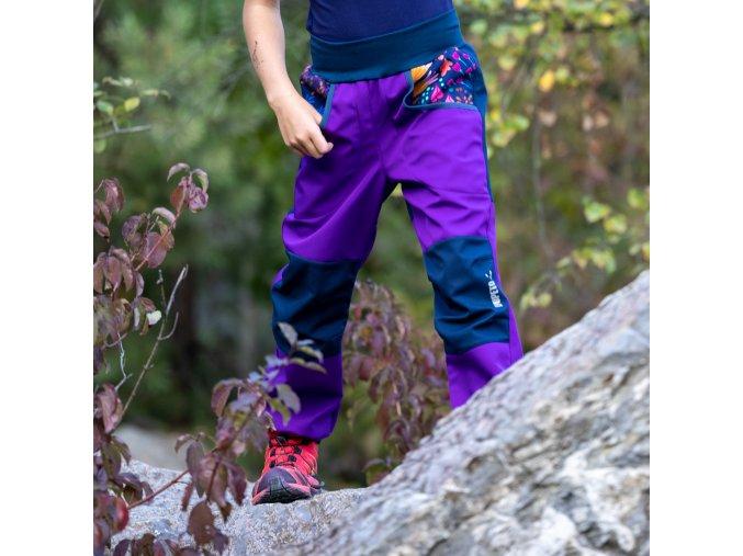 Rostoucí softshellové kalhoty Louka