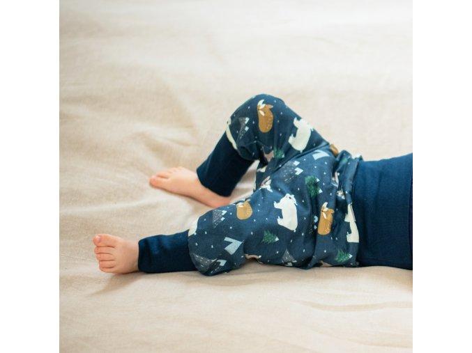dupeto detske kalhoty teplacky zimni www.dupetoshop.cz 1