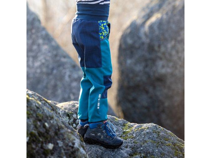 DUPETO 1x1 jarni podzimni rostouci softshellove kalhoty Boruvky 5