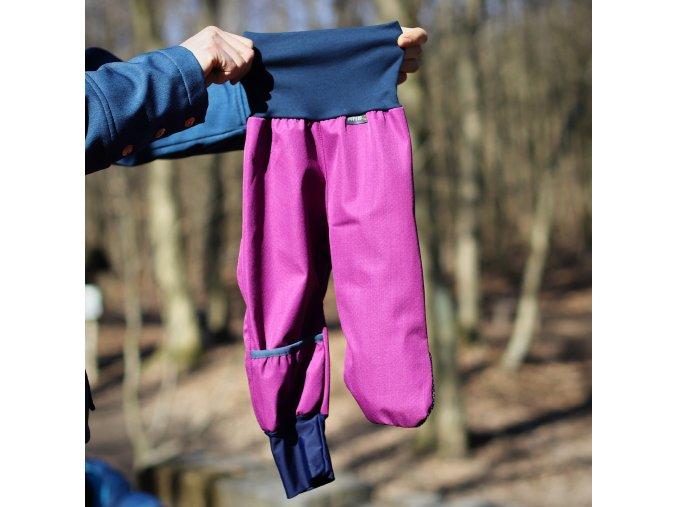 dupeto 1 softshellove kalhoty fialove 1