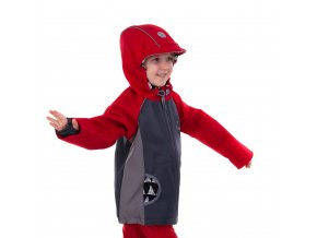 DUPETO softshellova bunda cervena 4 2