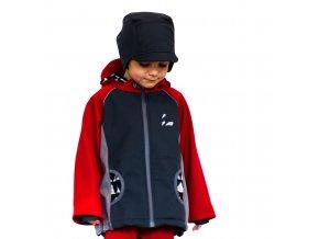 DUPETO softshellova bunda cervena 2