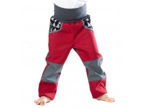 DUPETO rostouci softshellove kalhoty cerveny triangl 6