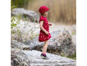 Čepice s kšiltem Karkulka
