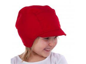 DUPETO softshellová cepice cervena 2