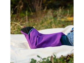 dupeto batoleci kalhoty prehrnovaci fialove 4 kopie