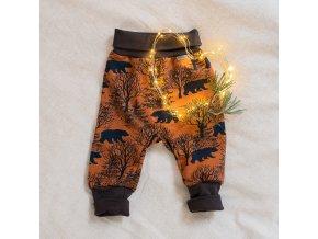 dupeto detske kalhoty teplacky medvedi www.dupetoshop.cz 1 (2)