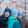 DUPETO zimni merino kukly puntikate 8