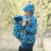 La Tulia nosící bunda ptáčči na zelenkavé (2)