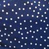 Rostoucí tepláčky modrý puntík