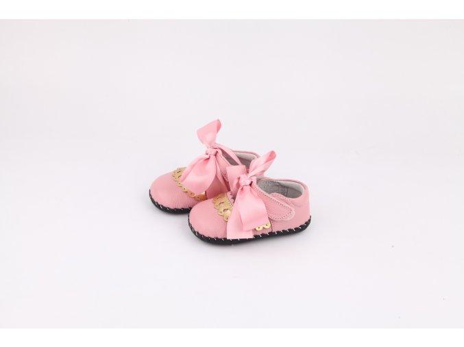 Topánky Mašlička - ružová - Freycoo