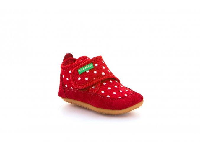 Papučky Froddo Prewalkers Red G1170001
