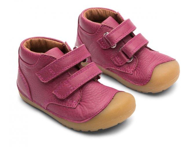 Bundgaard Petit Velcro Rosewine BG101068 715