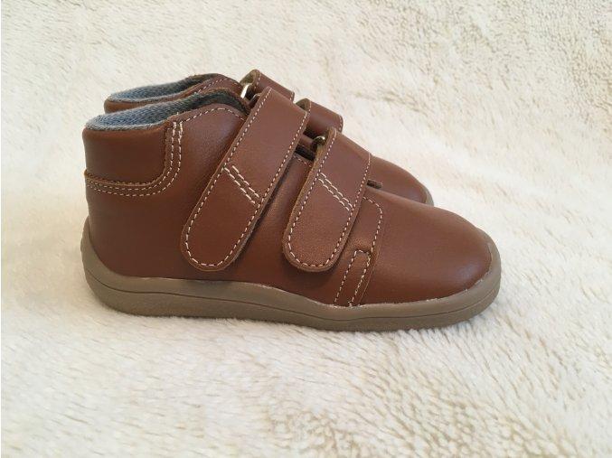 Topánky Lucas hnedé Beda Boty