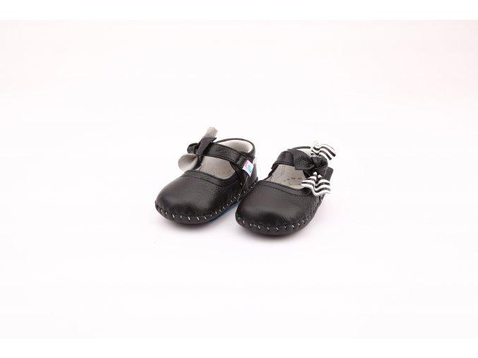 1216BK 2 Cierne topánky Freycoo