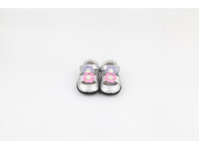 1263SI 1 Strieborné sandále Freycoo